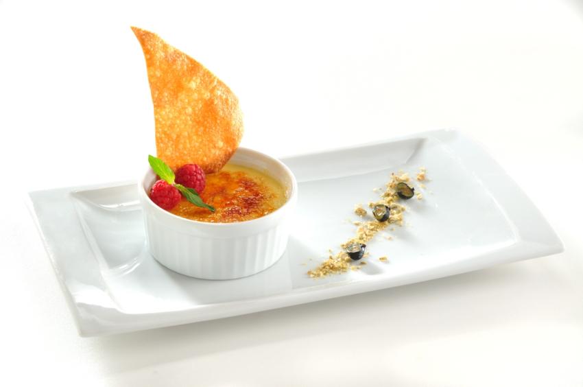 El plato del chef - Creme Brulee Vainilla