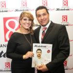 Marcelle Alvarez, Directora de Hosteleria News & Juan de Dios Valentin, Coordinador