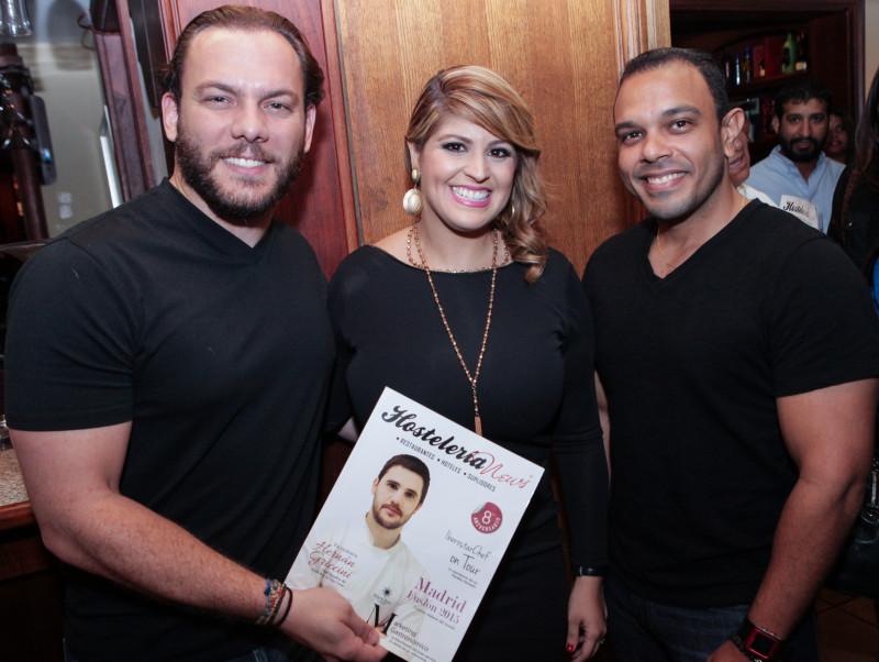 Rommel Marra, Cristina Alvarez & Luis José Tallaj