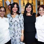 Devaki Pratt, Azize Melgen, Evelyn Beliard y Rosanna Ovalles
