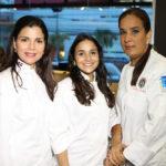 Laura Rizek, Ana Marranzini y Patricia de Marchena