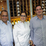 Roberto Lluberes, Ana Lebrón y Florian Strahlheim