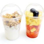 Fruits, frutas, granola, breakfast