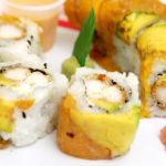 Sushi, sushi roll, jengibre, food